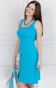 Obrázek Šaty РВ03 modrá pro těhotné a kojící