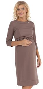 Picture of PP09 Maternity beige dress