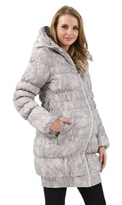 "Picture of Winter jacket 3in1 ""Iceland"" color: beige patterns"