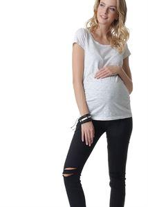 Obrázek Reims džíny pro těhotné ženy; barva: černá