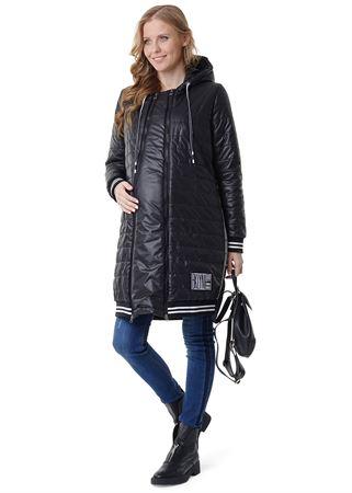 """Obrázek z Demi-sezónní bunda 3v1 """"Norwich"""": normální, pro těhotné ženy, pro dětské oblečení; barva: černá"""