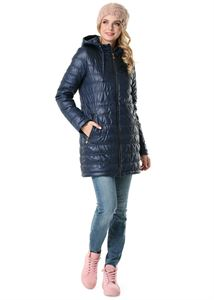 """Picture of Demi-season jacket 3 in 1 """"Mitchell"""" for pregnant women and baby wear; color: blue"""