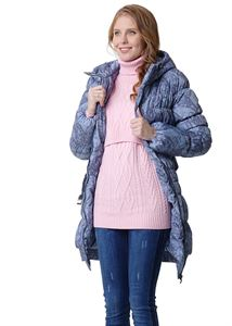 "Picture of Winter jacket 3in1 ""Hague"" color: light gray with patterns"