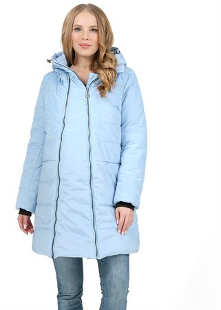 "Picture of Winter jacket 3 in 1 ""Malaysia"" for pregnant women and baby wear; blue color"