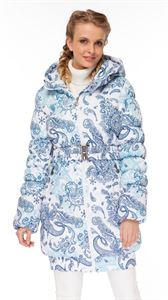 "Picture of Winter Jacket 2in1 ""Utah"" for pregnant women, normal; color: Paisley on white"