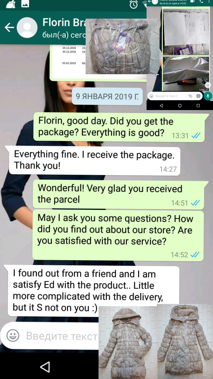"Florin (Romania, Румыния):"" I found out from a friend and I am satisfy Ed with the product.. Little more complicated with the delivery, but it S not on you :)"""