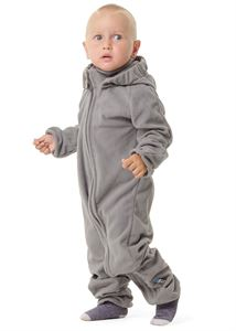"Picture of Jumpsuit fleece ""Wendy""; color: light grey"