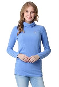 "Picture of Fleece Jumper ""Panther"" maternity and nursing; color: cornflower"