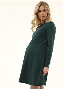 "Picture of ""Earlene"" Maternity dress; color: bottle"