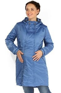 """Picture of Jacket demis. 2in1 """"Kelly"""" blue for pregnant women"""