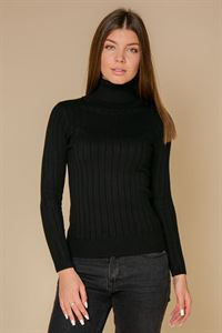 Picture of Turtleneck FH30657 color: black