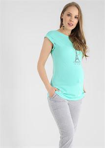 """Obrázek Tričko """"Christina"""" pro těhotné; barva: mentol"""