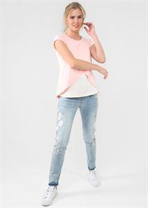 """Bild von """"Helga"""" Umstandsshirt/Stillshirt ; Farbe: pudrig"""