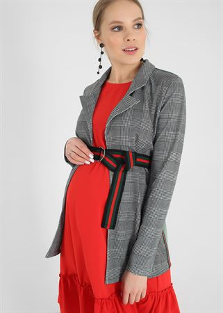 """Picture of Jacket """"Jacqueline"""" for pregnant and lactating; color: goose foot"""