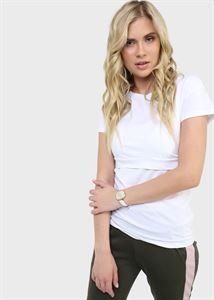 "Picture of T-shirt ""Dani"" for nursing; White colour"