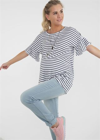 "Picture of T-shirt ""Ariel"" for pregnant women; White colour"