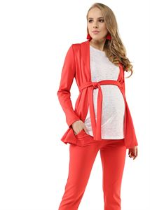 "Picture of Suit ""Catherine"" for pregnant and lactating; color: red"