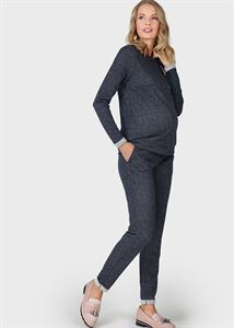 Picture of Lilith suit for pregnant and lactating; Color: Lurex Blue