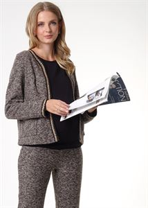 Picture of Heather suit for pregnant and lactating; color: brownie