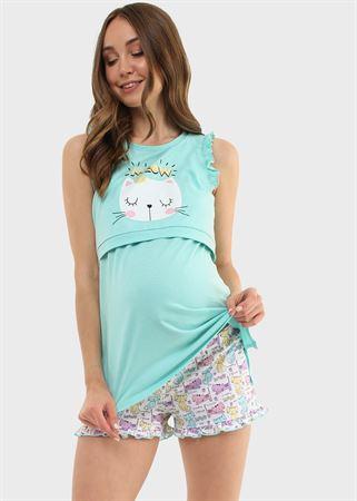 """[translate] Изображение Kit pour la maison """"Leah"""" pour les femmes enceintes et allaitantes; couleur: turquoise"""