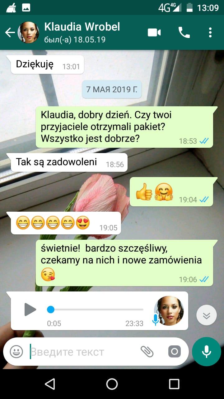 май 2019 Klaudia (Poland)