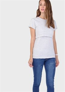 "Picture of T-shirt ""Dani"" for nursing; melange"