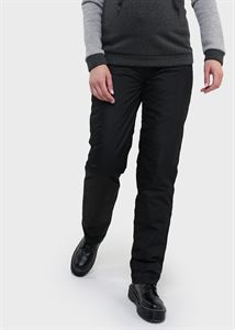 "Picture of ""Paiper"" Maternity black warm pants"