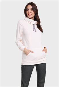 """Bild von Sweatshirt Fleece """"Riley"""" für schwangere und stillende Milchprodukte"""