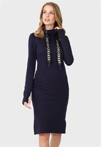 "Picture of Dress ""Vilena"" for nursing; color: blue"