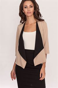 Picture of Cardigan DSK-22-24 beige/black