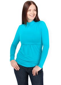 Picture of Turtleneck Lady turquoise