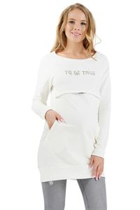 """Bild von Warme Unterwäsche """"Alba"""" für schwangere und laktierende Farbe: Milch"""