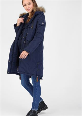 """Picture of Winter jacket 3v1 """"Toronto"""" for pregnant women and babywearing; color: blue"""