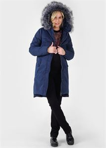 "Picture of Winter jacket 2v1 ""Munich"" for pregnant women, regular; color: blue"