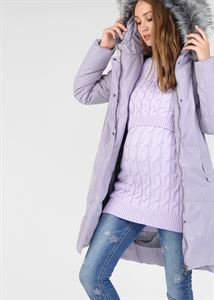 "Picture of Winter jacket 2v1 ""Munich"" for pregnant women, regular; color: lilac"