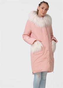 "Picture of Winter jacket 2v1 ""Portofino"" for pregnant women, regular; color: powder"