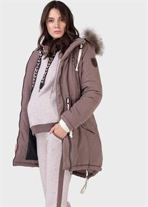 "Picture of Winter jacket 2 in 1 ""Newcastle"" for pregnant women, usual; color: coffee"