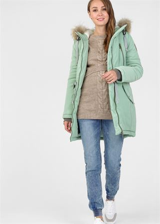 """Picture of Winter jacket 2 in 1 """"Newcastle"""" for pregnant women, usual; color: mint powder"""