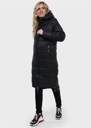 """Изображение Зимняя куртка 2в1 """"Монреаль"""" для беременных, обычная; цвет: черный"""
