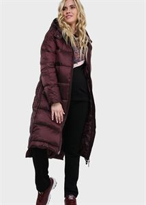 "Picture of Winter jacket 2v1 ""Montreal"" for pregnant women, regular; burgundy color"