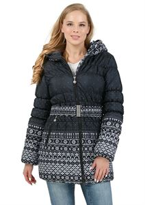 "Picture of Set 2in1 winter. ""Nebraska"" for pregnant women; Color: patterns on black"