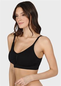 "Picture of Seamless bra ""Candice"" for pregnant and lactating; black color"