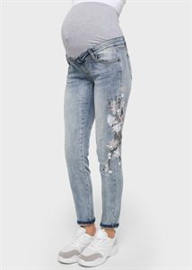 "Picture of Jeans ""Madrid"" Maternity; color: dark denim"
