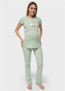 """Bild von Heimtrikot """"Stephen"""" für schwangere und stillende Frauen; Grün"""