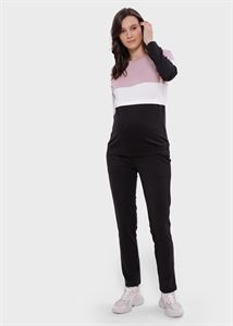Picture of Amberley maternity and nursing suit; the black