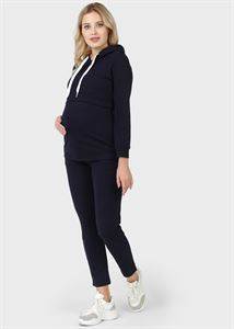 """Picture of """"Ingrid"""" tracksuit for pregnant women and feeding; blue"""