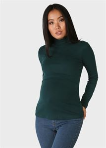 """Bild von Warmer Rollkragenpullover """"Darcy"""" für schwangere und stillende Frauen; atlantisch"""