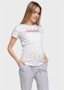 """Bild von T-Shirt """"Nika"""" für schwangere und stillende Frauen; Farbe: Katzen"""
