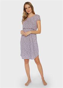 """Bild von Nachthemd """"Medina"""" für schwangere und stillende Frauen; Farbe: Cappuccino"""