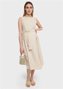 """Bild von """"Charlotte"""" Kleid für schwangere und stillende Frauen; Farbe Beige"""